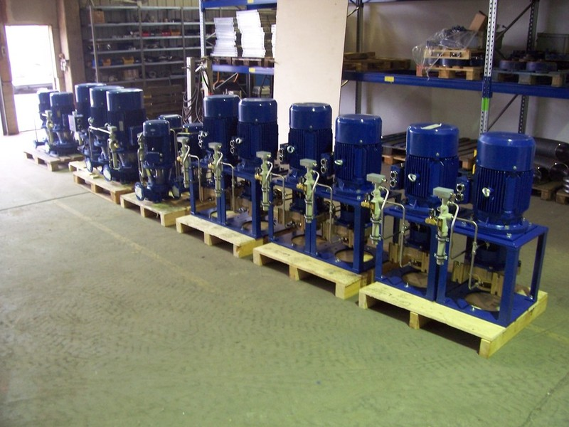 VN-Pumpen GmbH & Co  KG - References - Pumps and more